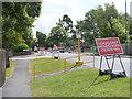 SK5738 : Temporary pedestrian crossing, Robin Hood Way by Alan Murray-Rust