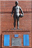 NS5564 : John Greig Statue, Ibrox Stadium by Leslie Barrie