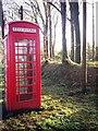 SN1306 : Sardis - old telephone box by welshbabe