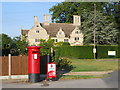 TF1505 : Manor House, Glinton, viewed from the post office by Paul Bryan