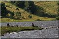 SD9287 : Fishermen, Semerwater by Mick Garratt