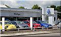 J2763 : Car showroom, Lisburn (2013-1) by Albert Bridge