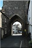 SD3778 : Cartmel Priory Gatehouse by edward mcmaihin