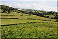 SO4321 : Farmland near Skenfrith by Philip Halling