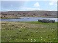 HU5765 : Planticrub by Loch Vats-houll by Oliver Dixon