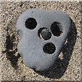 NZ8811 : Rock face by Pauline E