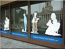 SU6400 : Dickens Bicentennial artwork, Portsmouth Civic Offices (iv) by Basher Eyre