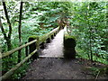 SJ8383 : Chapel Bridge in Styal Country Park by Raymond Knapman