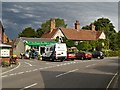 TM0634 : East Bergholt, Post Office and Store by David Dixon