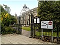 TM0634 : Entrance to St Mary's Churchyard, East Bergholt by David Dixon