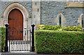J4582 : Church gate, Helen's Bay (1) by Albert Bridge