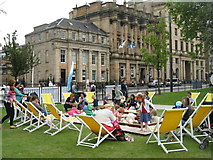 NT2574 : The Beach, St Andrew Square by M J Richardson