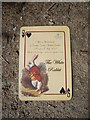 NO7497 : NTS 'Alice in Wonderland' playbill by Stanley Howe