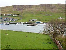 HU4039 : East Voe of Scalloway by Oliver Dixon