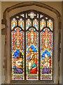 TM0533 : South Chapel Window, Dedham Church by David Dixon