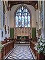 TM0533 : St Mary's Church Dedham, Chancel and East Window by David Dixon
