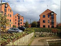 SP3065 : The Moorings flats, Myton Road by Robin Stott
