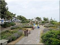 TM1714 : Seafront Gardens, Clacton-on-Sea by David Dixon