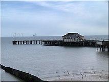 TM1714 : The Pier, Clacton-on-Sea by David Dixon