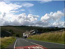 SD7992 : Approaching the Moorcock Inn on the A684 by Elliott Simpson