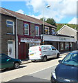 ST0094 : Launderette and van, Pontygwaith by Jaggery
