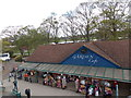 SU9677 : Rooftop view of the Garden Cafe, Windsor by Jaggery