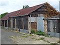TF0920 : Lock-up garages by Bob Harvey