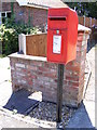 TM3490 : Station Road Postbox by Adrian Cable