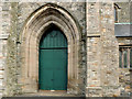 J3574 : Church doorway, Belfast by Albert Bridge