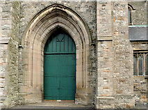 J3574 : Church doorway, Belfast by Albert Bridge