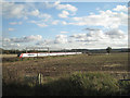 SK2701 : The West Coast main line southeast of Sandyways by Robin Stott