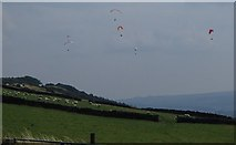 SK2077 : Eyam Edge from Bretton by Andrew Hill