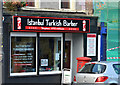 J3774 : Turkish barber, Strandtown, Belfast by Albert Bridge