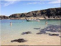 SW8471 : Trescore Islands lagoon by Duncan Moir