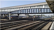 TQ2775 : Carriage sidings, Clapham Junction by Christopher Hilton