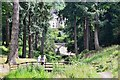 NU0702 : Cragside from the Debdon Burn by Jim Barton