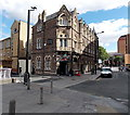 ST1875 : SW corner of The Great Western pub, Cardiff by Jaggery