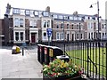 NZ3568 : West side of  Northumberland Square, North Shields by Andrew Curtis