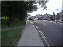 TQ1977 : Kew Green looking towards the South Circular Road by David Howard