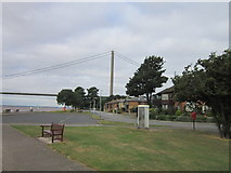 TA0225 : The viewing area at Hessle foreshore by Ian S