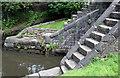 SJ8798 : Clayton Lock No.8 by Alan Murray-Rust