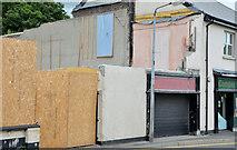 J4569 : Demolished shops, Comber (2) by Albert Bridge