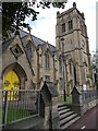 NZ2565 : Jesmond Parish Church by Andrew Curtis