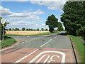 TL4346 : Thriplow Road, Fowlmere by David Beresford