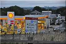 ST0207 : Cullompton : Motorway Services by Lewis Clarke