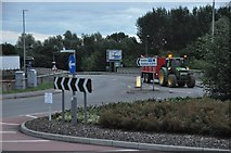 ST0207 : Cullompton : The A373 Roundabout by Lewis Clarke