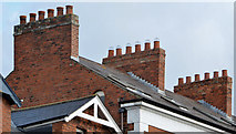 J3272 : Chimneys, Ulster Terrace, Belfast (1) by Albert Bridge