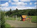 NG3450 : Children's playpark, Edinbane by Richard Dorrell