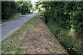 TL0644 : Ditch on Duck End Lane by Philip Jeffrey