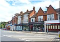 SU9566 : Parade of Shops at Sunningdale by Mike Smith